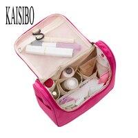 2016 Korean Beautician Waterproof Cosmetic Bags Bath Wash Makeup Make Up Cosmetic Bag Organizer Storage Travel