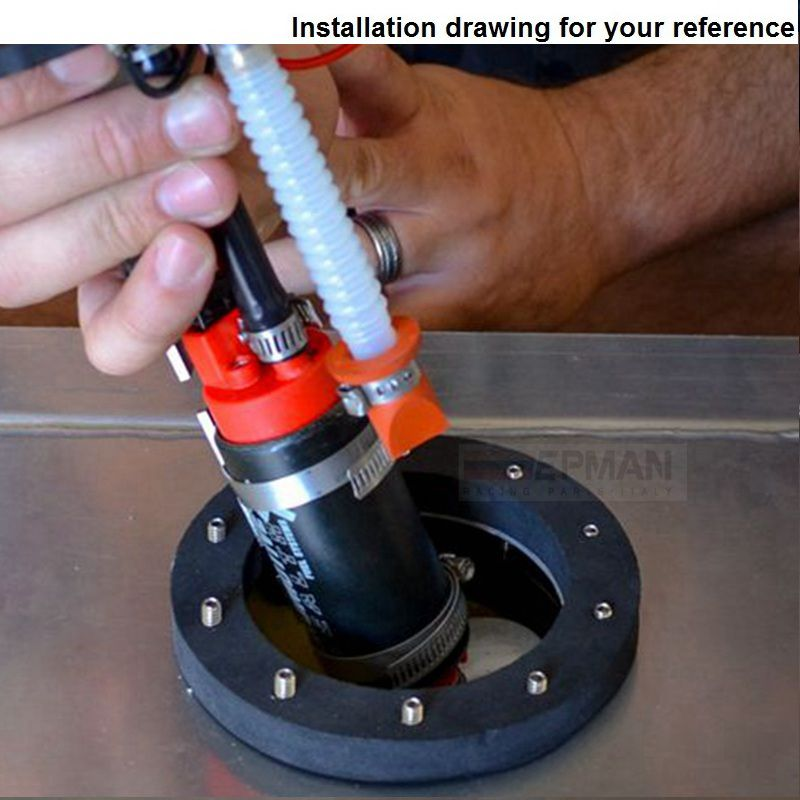 Äkta Epman 255 LPH högtryck elektrisk bränslepump i tanken - Reservdelar och bildelar - Foto 6