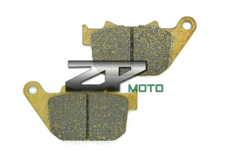 For Xl 883 L Superlow 2011 2012 Rear Organic Kevlar Brake Pads