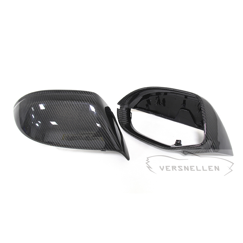 A7 TOP Quality PU Protect Carbon Mirror Caps for Audi A7 2011 2012 2013 2014 S7 2013 Replacement OEM Fitement Side Mirror Cover