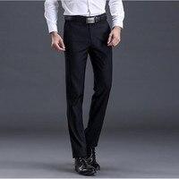 XMY3DWX New fashion male high-grade slim fit business Suit pants/Male leisure pure color Casual pants/men Thin leg pants 28-42 1