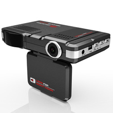 2 In 1 Multi Function STR8500 Car DVR Radar Detector HD 720P 120 Degree View Angle