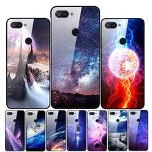 For Xiaomi Mi 8 Lite Case Tempered Glass
