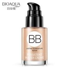 BIOAQUA BB Cream Foundation Whitening Skin Care Long Lasting Moisturizing Repair Oil Control Face Concealer Nude Facial Makeup недорого