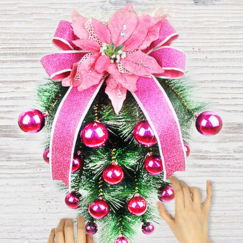 Diy Christmas Ornaments As Gifts.Inverted Suspension Ourwarm Kids Diy Christmas Tree With Ornaments Children Christmas Gifts Door Wall Hanging Xmas Decoration Decorate Your House For