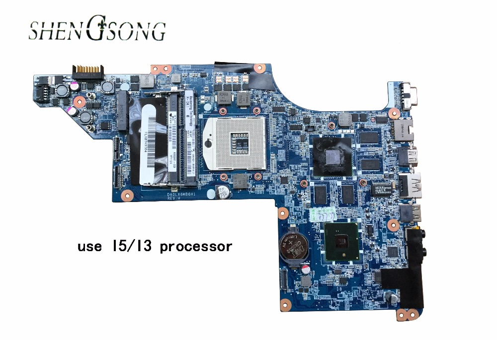 630981-001 Free Shipping for HP dv7-4000 DV7 motherboard DA0LX6MB6I0, tested 100% working DA0LX6MB6F1 DA0LX6MB6F2 DA0LX6MB6G2 744009 501 744009 001 for hp probook 640 g1 650 g1 motherboard socket 947 hm87 ddr3l tested working