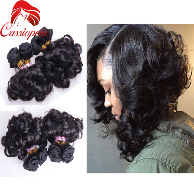 Short Curly Remy Human Hair Extensions For Black Women 100