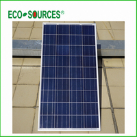 UK Stock 100W Watts 12V Volt Poly Solar Panel Battery Charging Off Grid Caravan Home Free
