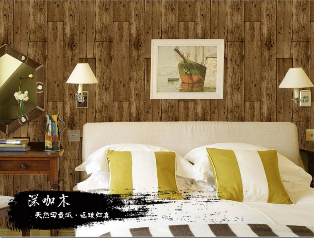 Rural natural wind do the old wood vintage pattern wallpaper Chinese Teahouse Restaurant roll wallpapers dream of the unified field – selected poems 1974–1994
