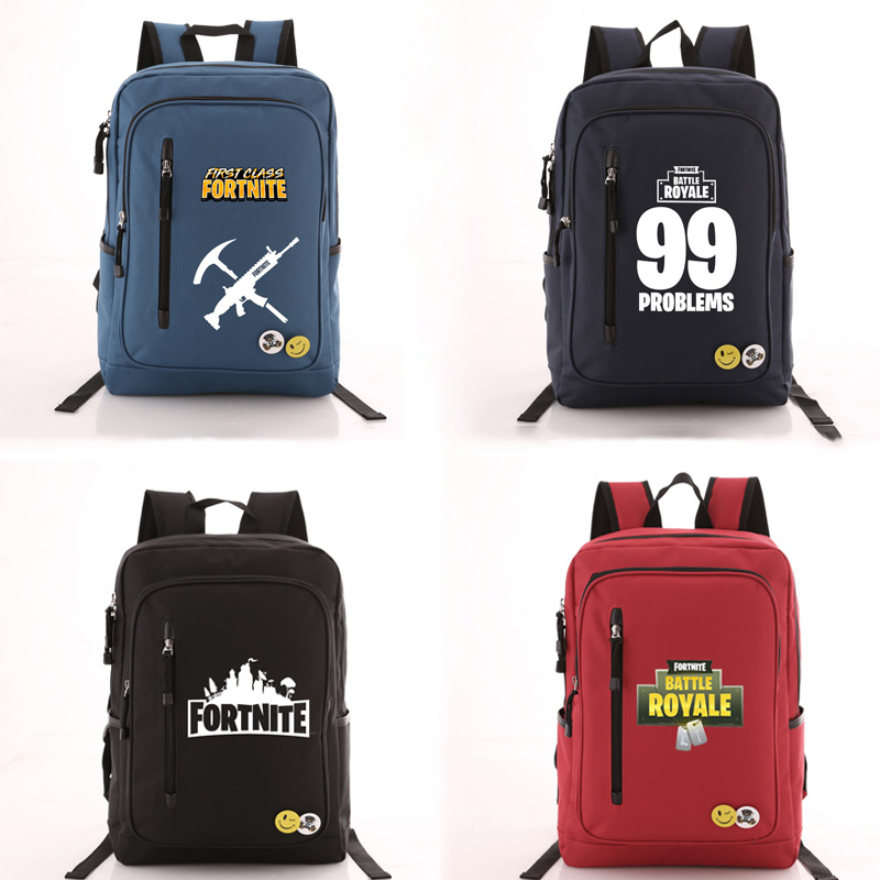 2018 Game Fortnite Battle Royale Childrens School Bag Kids BTS Gift Bag Backpacks Bags Book Rucksacks Action Figure Toys Gifts