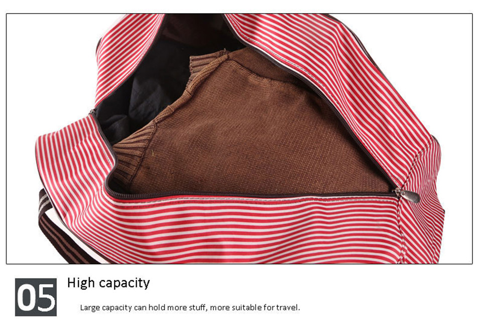 dff2623b5889 Women Fashion Wheels Duffle Luggage Bag Folding Large Capacity ...