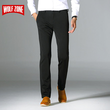 New Arrival Casual Pants Men Brand Clothing Business Mens Formal Trousers Pantalon Homme Skinny Full Length Autumn Male Dress
