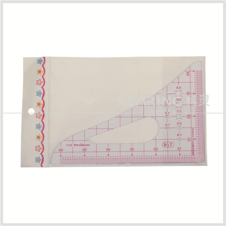 Kearing Plastic Scale Ruler 1 4 Painting Scale Ruler Garment Pattern Making Rulers 8514 Scales Cartoon Ruler Metalscale Ruler Aliexpress