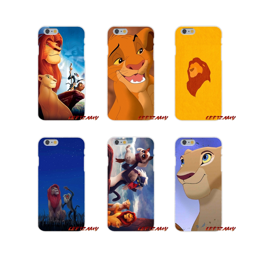For Samsung Galaxy A3 A5 A7 J1 J2 J3 J5 J7 2015 2016 2017 Accessories Phone Cases Covers The Lion King Grumpy Cat Simba Half-wrapped Case Phone Bags & Cases