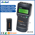 De alta qualidade comprimento Lan Cable Tester tela LCD SC8108