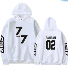 2018 Kassidy's Harajuku White Mens Clothing Men And Women Loose Hooded Sweatshirts Autumn And Winter Text Print Long Sleeves
