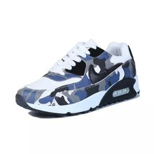 2017 summer time new leather-based camouflage ladies's sports activities sneakers low cost outside health sneakers ladies's trainers