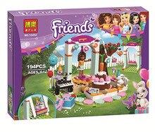 2016 Nueva BELA 10492 fiesta de Cumpleanos del Chica Andrea Building Blocks Set Amigos Juguetes de Los Ladrillos