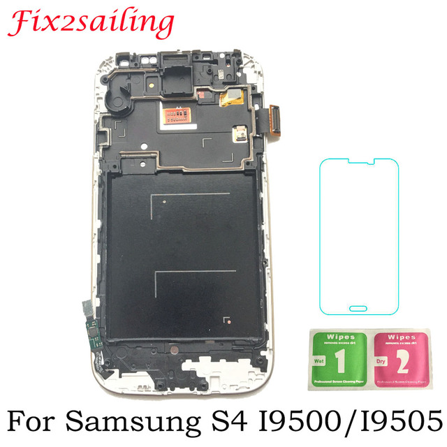For SAMSUNG Galaxy S4 GT-i9505 i9500 i9505 i9506 i9515 i337 LCD Display Touch Screen with Frame Digitizer 5.0inch LCD Display