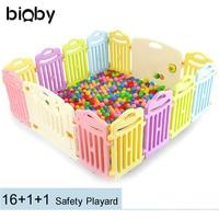 Портативный детский манеж игровая панель Забор детский открытый мячи для игры в помещении бассейн детский безопасный складной цветной пан