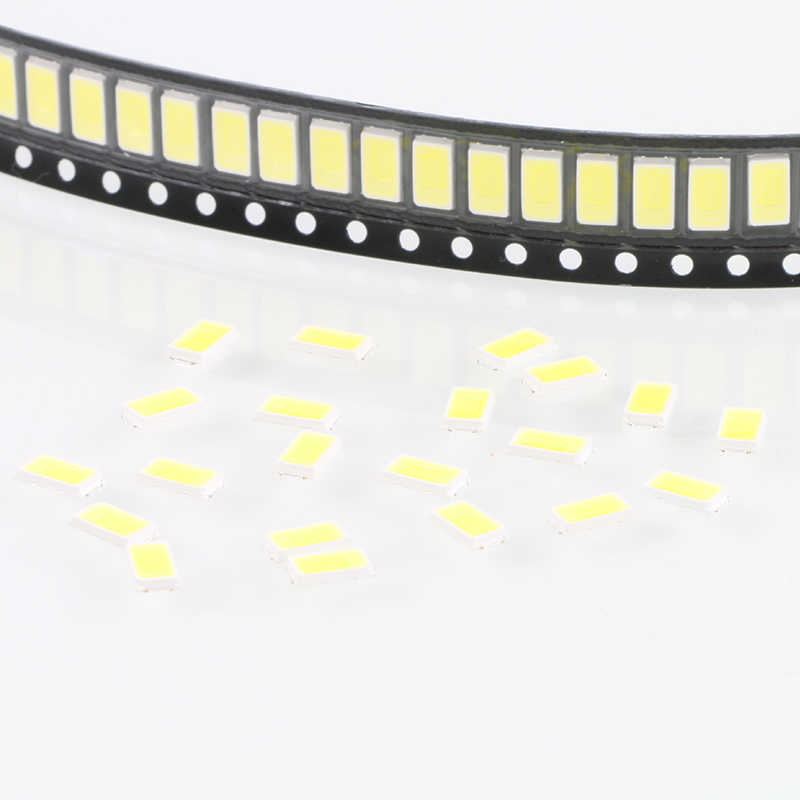 100 pièces 5630/5730-CW/WW 0.5W-150Ma 50-55lm 6500 K lumière blanche SMD 5730 5630 LED 5730 diodes (3.2 ~ 3.4 V)