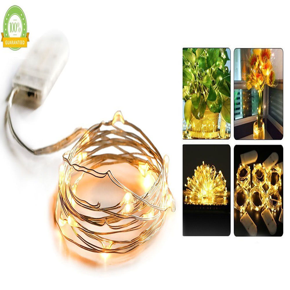 6 Pack Fairy String Lights 7.2ft 20LED Starry String kerge aku - Puhkusevalgustus - Foto 3