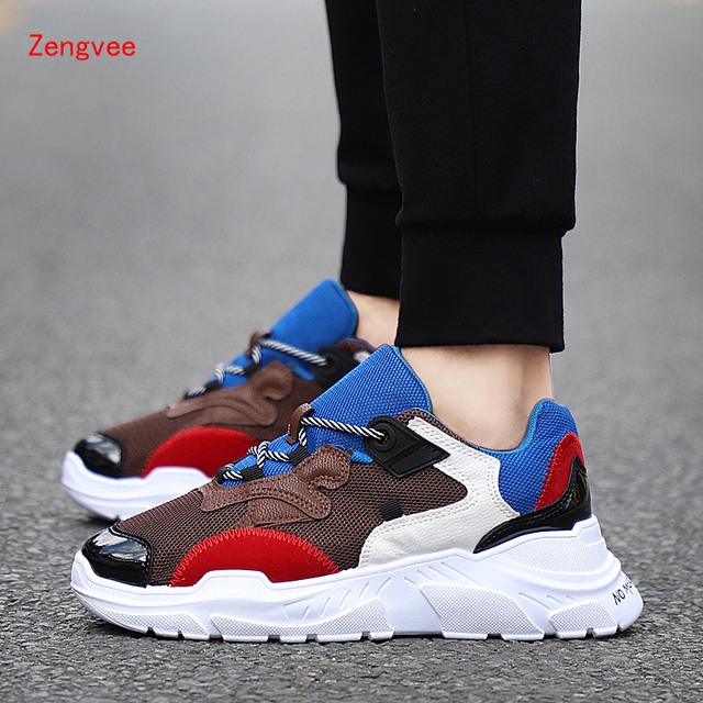 7697d5eadc 2018 Summer Krasovki Men s Casual Shoes Fashion Man Breathable Sport  Sneakers for Adult Tenis Masculino Adulto Sapato Masculino