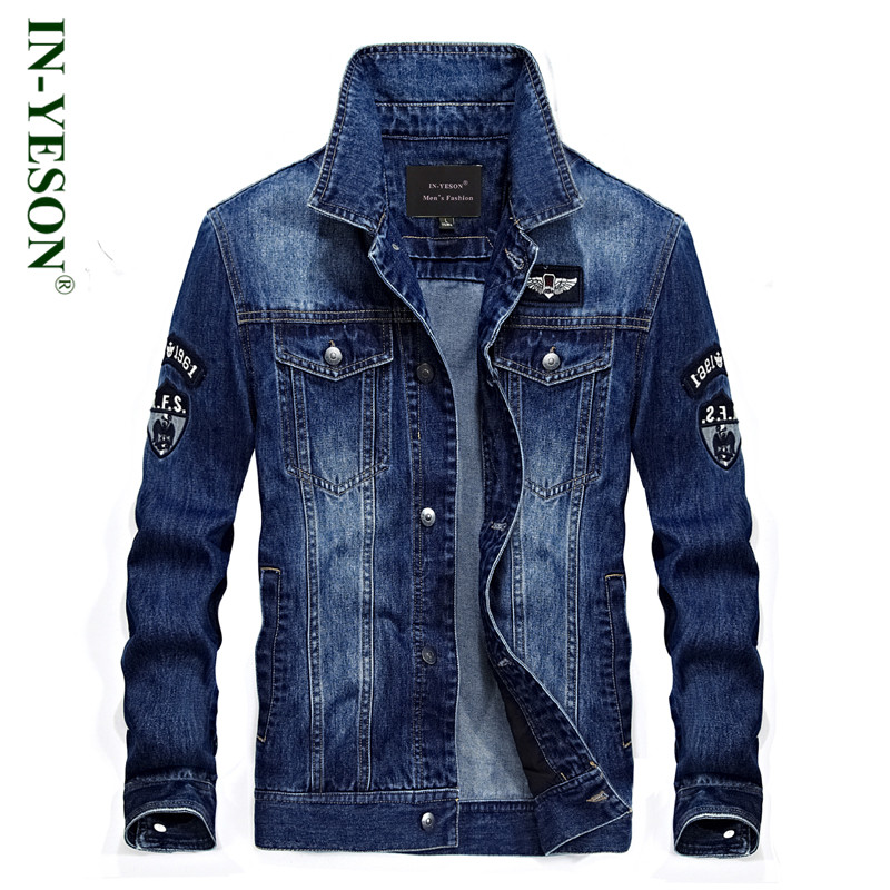 2018 Brands Coats Fashion Clothing Denim Jackets Thick Winter Jackets Warm Jackets Jeans Men coat