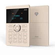 Origine AIEK E1 Téléphone portable Mini Cellulaire Carte Étudiant Poche Faible Rayonnement Téléphone Mobile