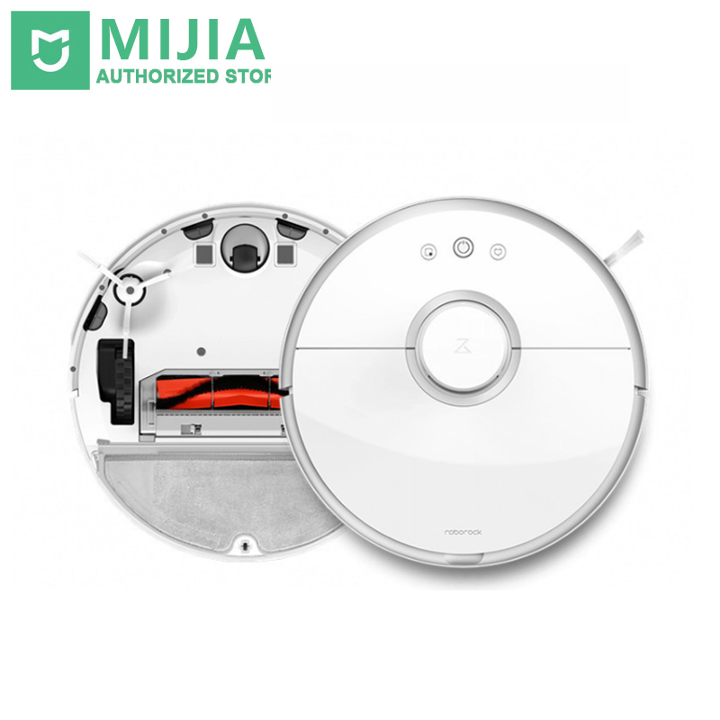 New Original Xiaomi Roborock s50 MI Robot Cleaner for Home Automatic Sweeping Dust Sterilize Mop Smart Planned Mobile App original xiaomi mi robot vacuum cleaner for home automatic sweeping dust sterilize smart planned mobile app remote control