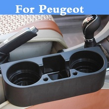 Auto Seat Gap Organizer Shelving Cup Holder Car finishing box For Peugeot 1007 107 108 2008 206 207 208 208 GTi 301 307 3008