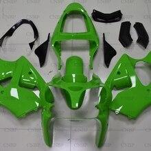 Ninja ZX-6R 2001 мотоцикл обтекатель для Kawasaki ZX6r 2000-2002 зеленый кузов Ninja ZX-6R 2001 Abs обтекатель