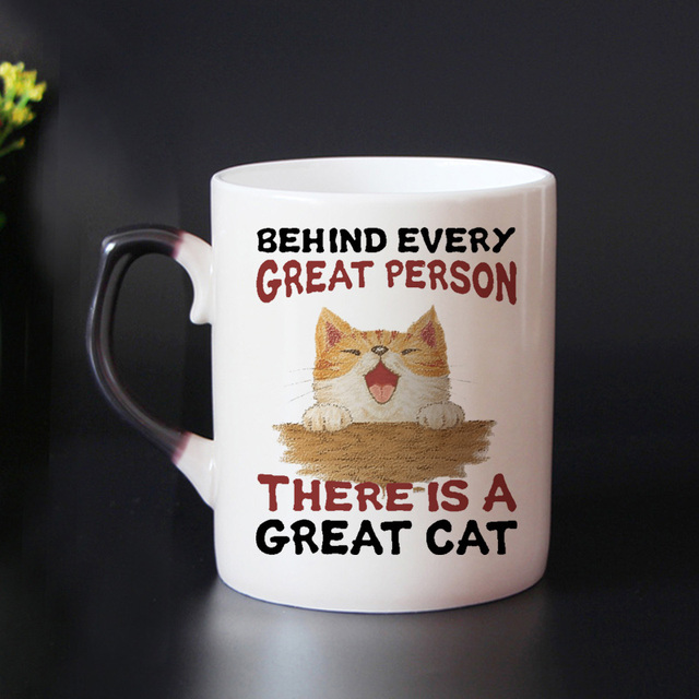 funny cats Color Changing Mug