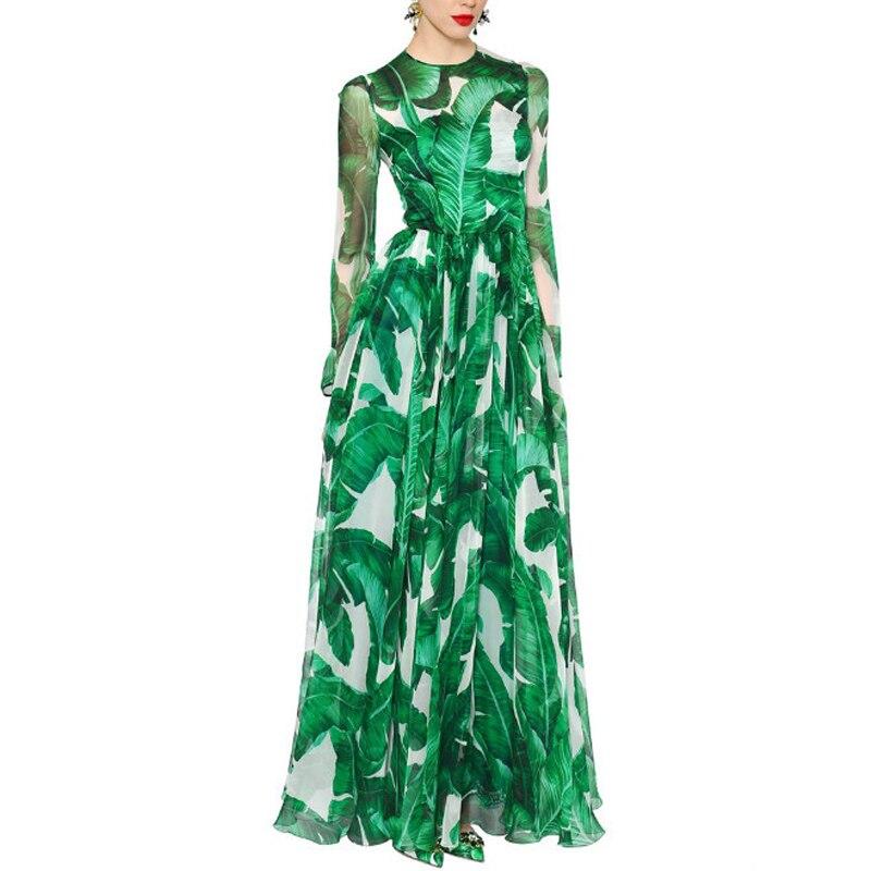 Designer Runway Dresses High Quality 2017 Spring Summer