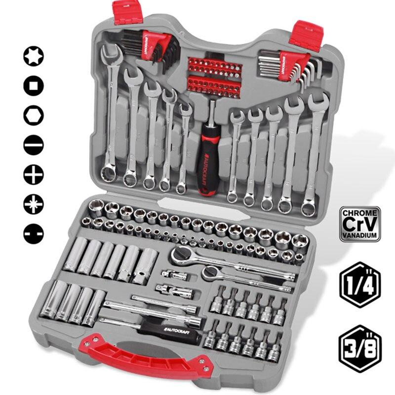 LISM инструмент для ремонта автомобиля 140 шт. Набор розеток инструмент для ремонта автомобиля динамометрический ключ с храповым механизмом к