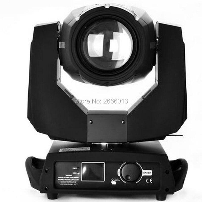 Free Shipping Touch Screen 200W 5R DMX512 spot Zoom Stage Lights 200W Beam Moving Head Light 5R Club Wedding DJ Disco Lighting