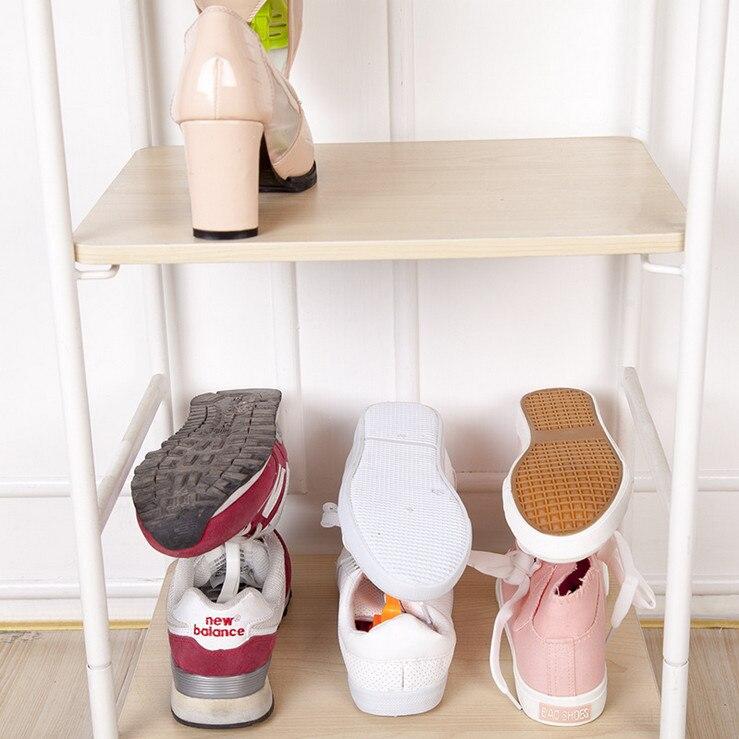 Yaratıcı Tasarım Uzay Tasarruf Ayakkabı Raf Ayakkabı Depolama - Evdeki Organizasyon ve Depolama - Fotoğraf 4