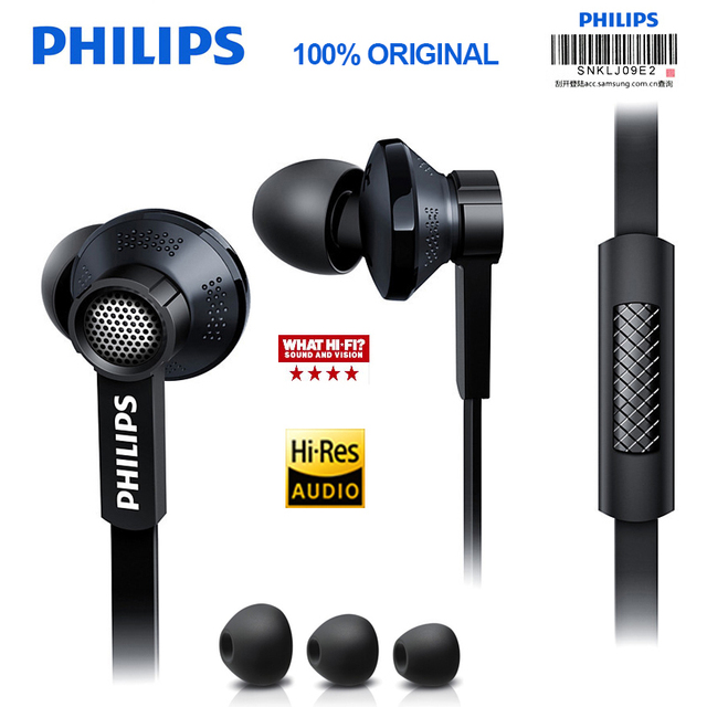 Original Philips Tx1 Gewissenhaftesten kopfhörer hohe auflösung HIFI fieber ohrhörer ohr noise cancelling kopfhörer für S9 S9 Plus Hinweis 8