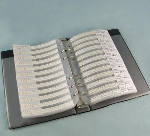 Купить с кэшбэком 170valuesX50pcs=8500pcs 0805 1% 0R-10M ohm SMD Resistor Kit RC0805 FR-07 series Sample Book Sample Kit