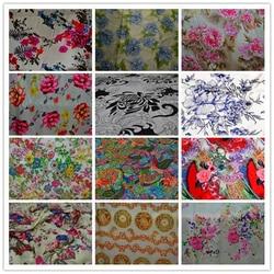 شحن مجاني 100% نسيج التوت الحرير charmuse الحرير المطبوع الصين نسيج الحرير الخالص الطبيعي متعدد الألوان SCF-AP