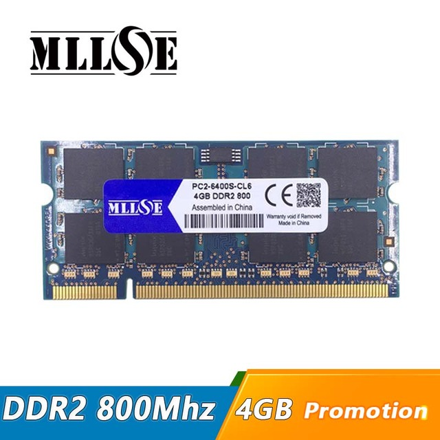 Mllse Memory Ram Ddr2 4gb 8gb 800 Mhz Pc2 6400 Sodimm Laptop