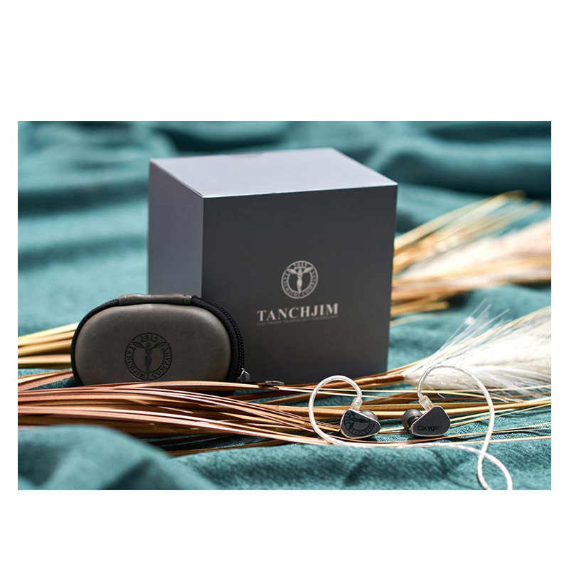 TANCHJIM Oxygen (Asano TANCH™ Limited Edition) Carbon Nanotube Dynamic Driver HiFi In-ear Earphone IEM Detachable cable