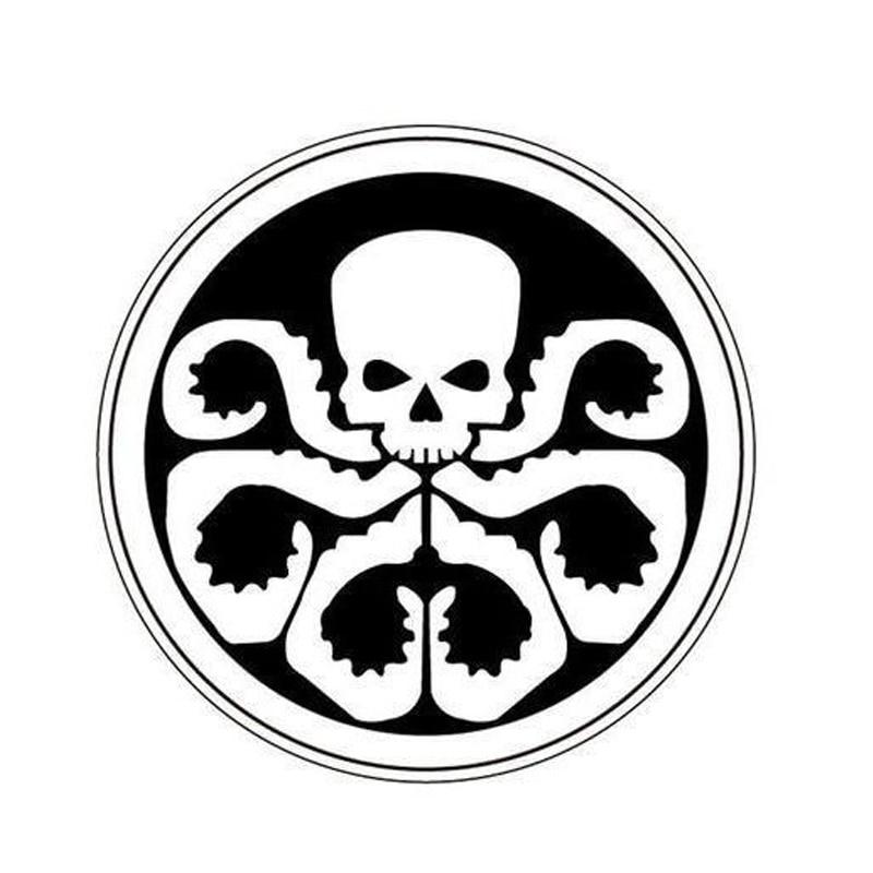 1 PCS Agent SHIELD Hydra Logo Stamp DIY Self Inking