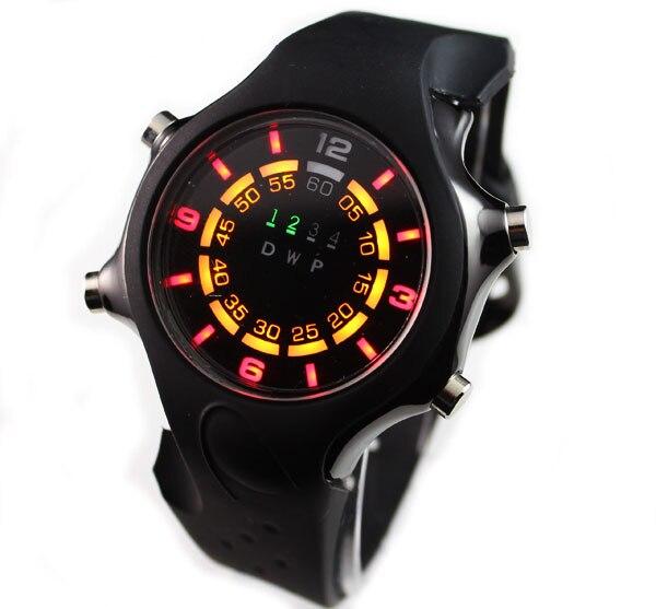 TVG черные модные силиконовые Binary светодиодный часы мужские спортивные цифровые наручные часы для дайвинга|watch f|watch fashionwatch fashion men | АлиЭкспресс