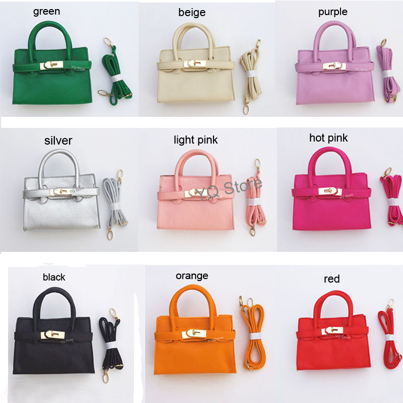 5 Pcs Baby S Fashion Handbags Kids Mini Totes Children Crossbody Metal Buckle Purse Preschool Coin Wallet In Top Handle Bags From Luggage