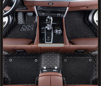 For Audi A5 Sportback 2012.2013.2014.2015.2016.2017 Floor Mats Foot Carpets High Quality Embroidery Style+ Wire coil Step Mat