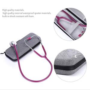 Image 3 - New Hard Stethoscope Cover Carrying Case for 3M Littmann Classic III/Littman Cardiology 4/MDF/Omron Stethoscope and LED Penlight