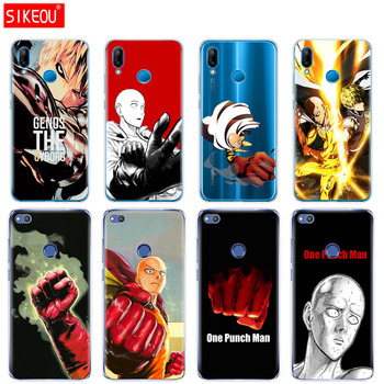Silicone Cover Phone Case For Huawei P20 P7 P8 P9 P10 Lite Plus Pro 2017 P Smart anime One Punch Man