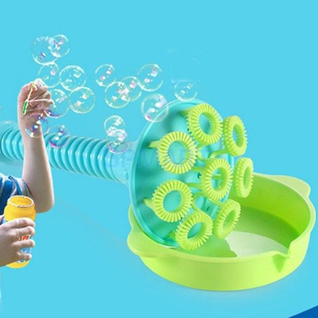 4 Pieces Plastic Bubble Blower Toy Handheld Bubble Making Tools Set Kids Childhood Outdoor Activities Play Fun Games ...