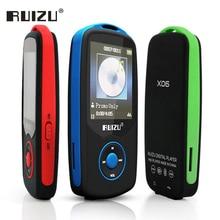 Big discount Ruizu X06 Lossless Flac Portable Hifi Digital Sport Audio Screen Mp 3 Music Mp3 Player Bluetooth With Headphone 4GB Radio FM TF